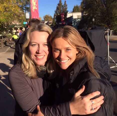Author Cheryl Strayed and actress Reese Witherspoon