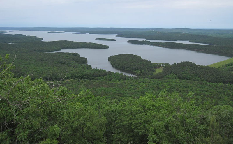Lake Maumelle, near Little Rock, Arkansas