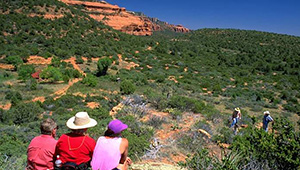 Hancock Ranch is part of the red rock area of Sedona