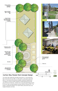 Carleton Way Park design schematic