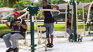 Fitness Zone at West Perrine Park, FL
