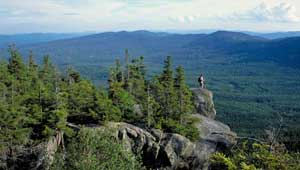 Tumbledown Mountain-Mount Blue. Photo: Jerry and Marcy Monkman