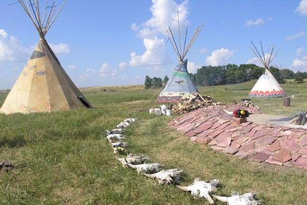 Pipestone National Monument, Minnesota. Photo courtesy of the National Park Service