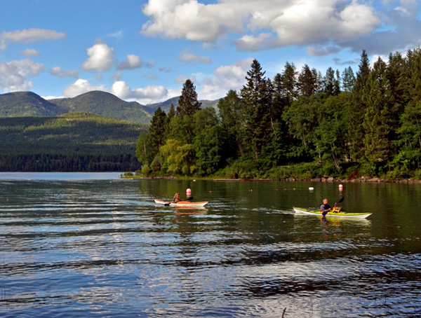 Whitefish Lake in Montana's Haskill Basin