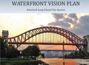 Cover of the Waterfront Vision Plan