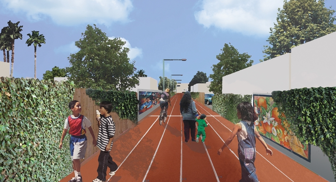 Avalon Green Alley Demonstration Project