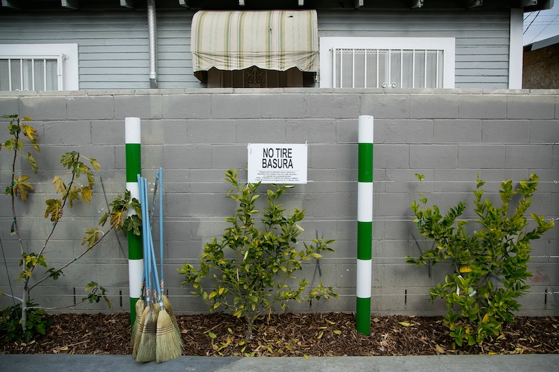 Avalon Green Alley demonstration project, Los Angeles