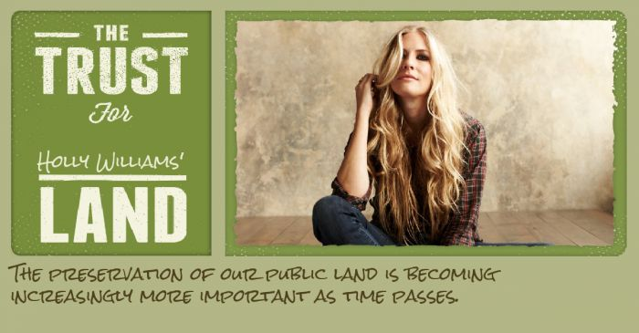 The Trust for Holly Williams' Land: country music scion speaks up for nature