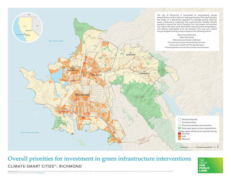 Climate Smart Cities Richmond | The Trust for Public Land on map of ca state, map of yuba city area, ca central valley cities, map of usa time, map of big bear lake calif, northern ca cities, map of ca mining towns, california cities, bay area county map with cities, map of la state line-ms, map of marina del rey ca, map of united states, minnesota map and cities, map of alderpoint ca, map of apple hill camino ca, ca county map with cities, map of the counties in ca, map of la parishes with towns, map of national forests in ca, map of ca water,