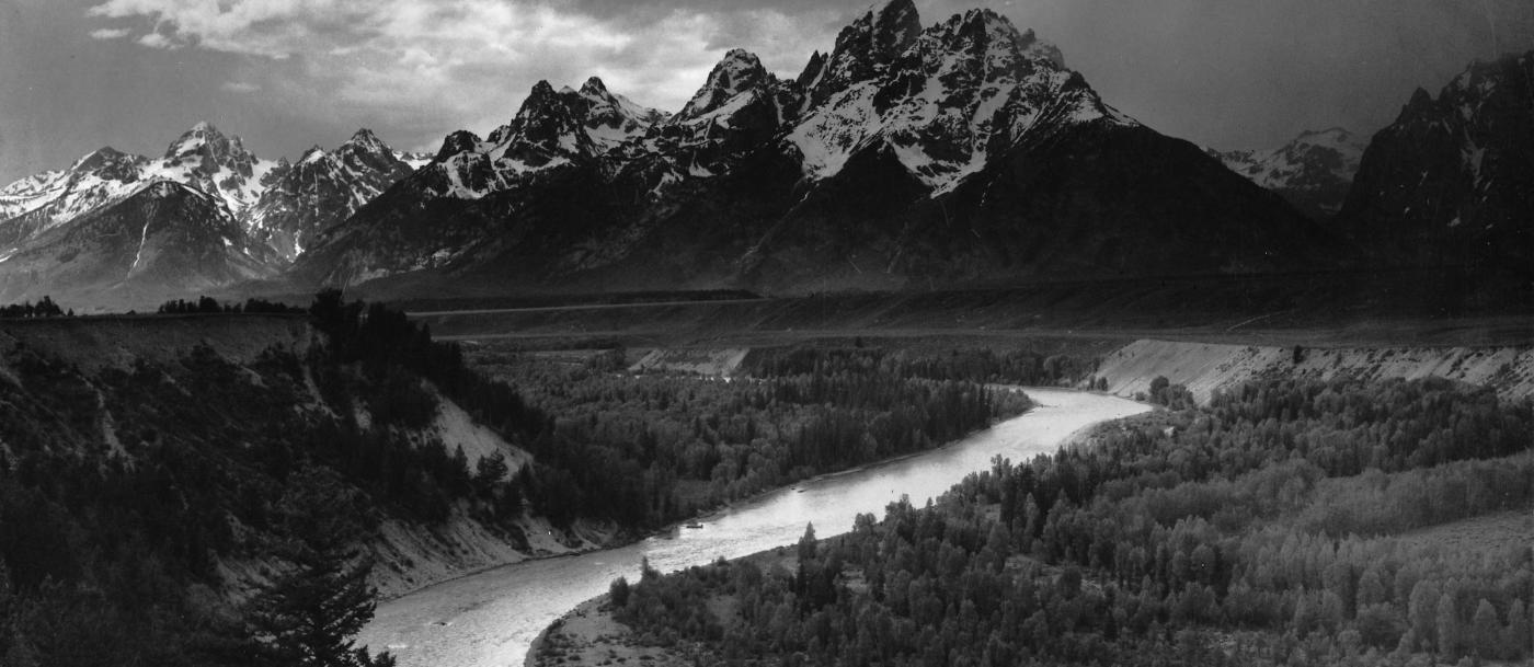 The Tetons and Snake River (1942)