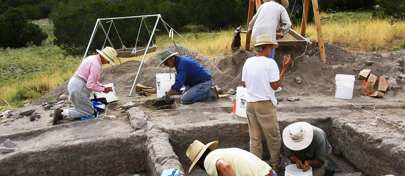 Excavations at Burnt Corn Pueblo