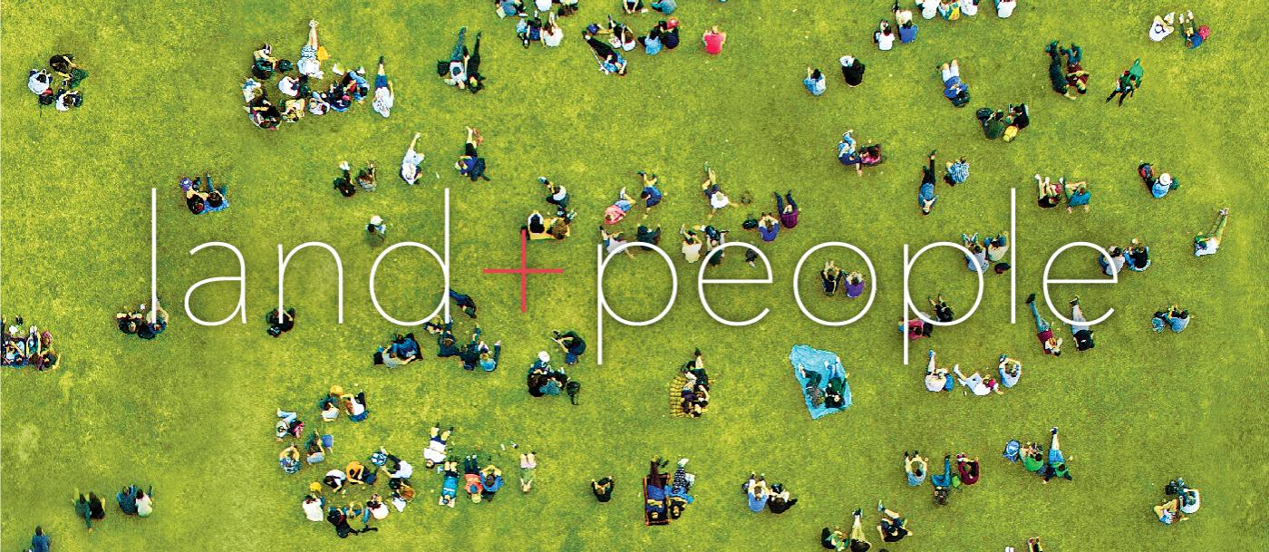 cover of the Winter 2017 issue of Land+People