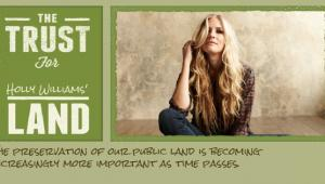 Rising country star Holly Williams