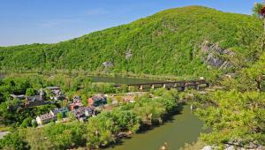 Harpers Ferry Viewed from Loudon Heights