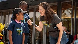 Opening dedication of Hayes Valley Playground in San Francisco