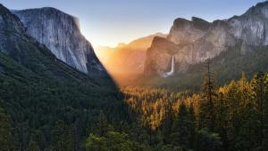 Yosemite Valley at dawn