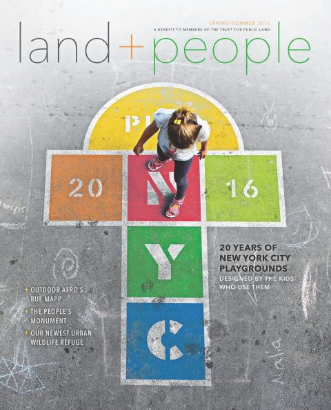 Land&People Spring/Summer 2016 cover