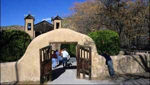 Santuario de Chimayo, New Mexico. Photo: Don J. Usner