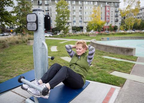 Seattle Fitness Zone areas