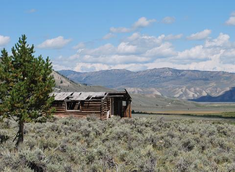 Upper Gros Ventre River Ranch, Wyoming