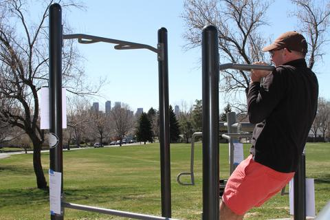 Zuni Park Fitness Zone, Denver