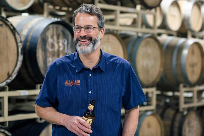 Rob Tod, founder of Allagash Brewing