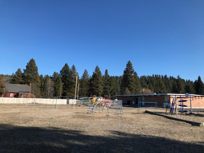 Chiloquin Elementary Side Yard