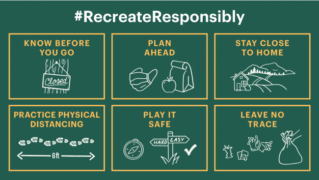Recreate Responsibly guidelines