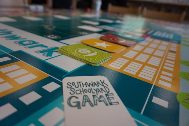Southwark playground board game
