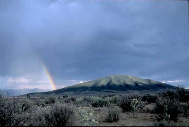Ute Mountain, New Mexico. Photo: Jane Bernard  Ute Mountain, New Mexico. Photo: Jane Bernard