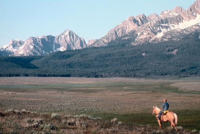 Piva Ranch in the Sawtooth National Recreation Area, Idaho