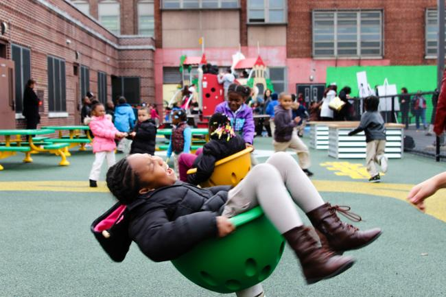 Sussex Avenue Renew School playground