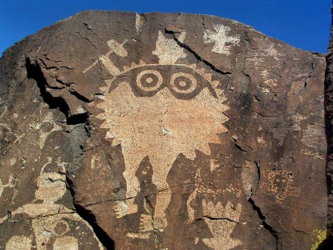 Rock art in the Galisteo Basin