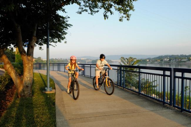 Chattanooga Riverwalk, Tennessee