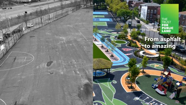 From asphalt to amazing
