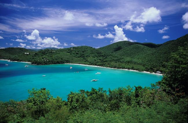 Maho Bay, US Virgin Islands