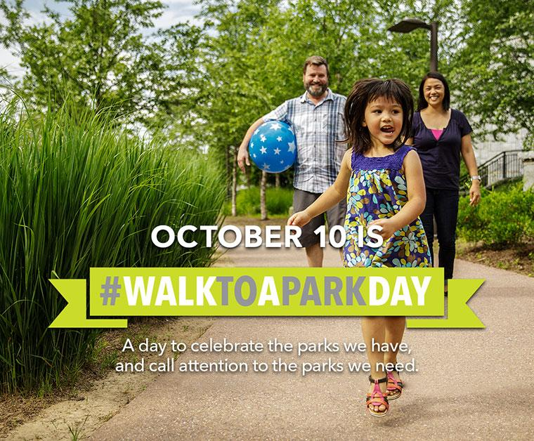 National Walk to a Park Day