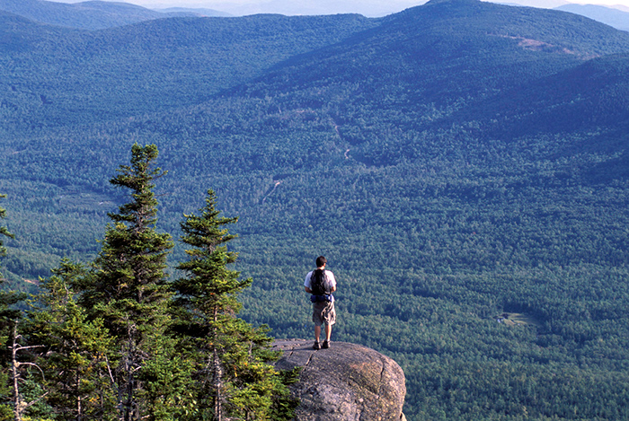 views from Tumbledown Mountain, Maine